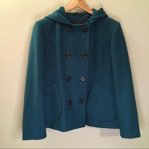 Giacca Hooded Peacoat